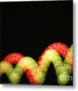 Bouncing Ball Metal Print