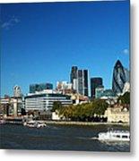 City Of London Skyline Metal Print