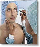 Cosmetic Surgery Metal Print by Adam Gault