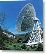 Effelsberg Radio Telescope Metal Print