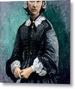 Florence Nightingale, English Nurse Metal Print