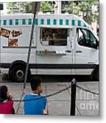 Food Trucks  Metal Print