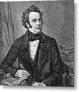 Franz Schubert (1797-1828) Metal Print