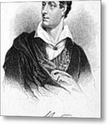 George Gordon Byron (1788-1824) Metal Print