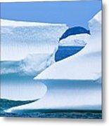 Icebergs, Canada Metal Print