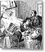 Johnstown Flood, 1889 Metal Print