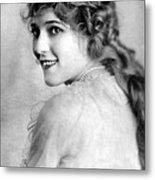 Mary Pickford, Ca. 1918 Metal Print