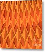 Mathematical Origami Metal Print