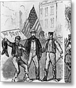 New York: Draft Riots, 1863 Metal Print