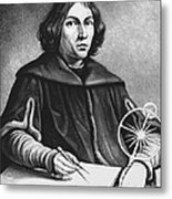 Nicolaus Copernicus, Polish Astronomer Metal Print by Science Source