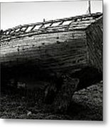 Old Abandoned Ship Metal Print