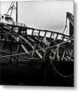 Old Abandoned Ships Metal Print