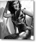 Paulette Goddard, Paramount Pictures Metal Print