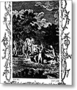 Plague Of London, 1665 Metal Print