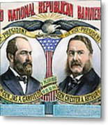 Presidential Campaign, 1880 Metal Print