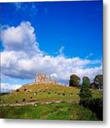 Rock Of Cashel, Co Tipperary, Ireland Metal Print