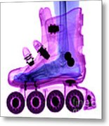 Rollerblade Boot Metal Print