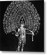 Silent Film Still: Costume Metal Print
