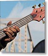 5-string Bass Metal Print