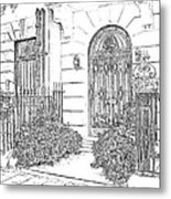 The Doors Of London Metal Print
