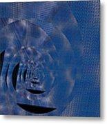 Twirling Shine Metal Print