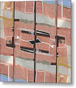 Urban Abstract San Diego Metal Print by Carol Leigh