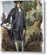 William Penn (1644-1718) Metal Print by Granger