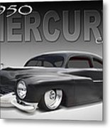50 Mercury Coupe Metal Print