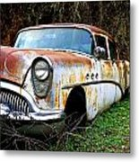 50's Cruiser Of The Past Metal Print by Steve McKinzie