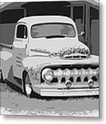 51 Ford Pickup  Metal Print