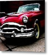 53 Packard Caribbean Convertible Coupe Metal Print