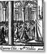 Spanish Armada, 1588 Metal Print by Granger