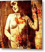 Winsome Woman  Metal Print