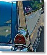 57 Chevy Bel Air 2 Metal Print