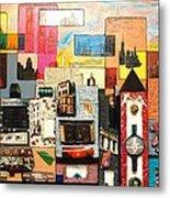 57th  Street Kaleidoscope Metal Print