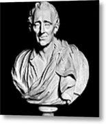 Baron De Montesquieu Metal Print