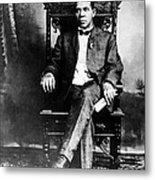 Booker T. Washington 1856-1915 Metal Print