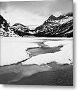 Bow Lake Metal Print