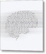 Brain, Conceptual Computer Artwork Metal Print