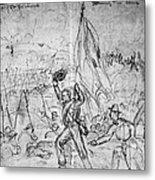 Civil War: Petersburg Metal Print