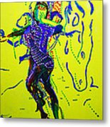 Dinka Dance - South Sudan Metal Print