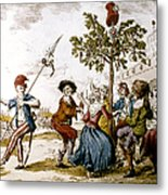 French Revolution, 1792 Metal Print