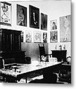 Gertrude Stein (1874-1946) Metal Print