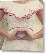 Heart Metal Print by Joana Kruse