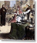 John Wycliffe (1320?-1384) Metal Print