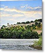 Kalemegdan Fortress In Belgrade Metal Print by Elena Elisseeva
