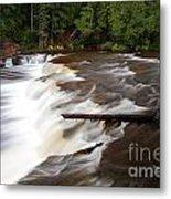 Lower Tahquamenon Falls Area Metal Print