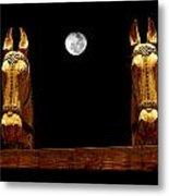 Midnight In Santa Fe Metal Print