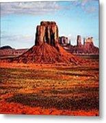 Monument Valley Metal Print