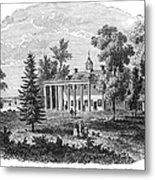 Mount Vernon Metal Print